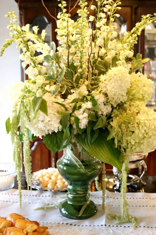 table centerpiece for bridal shower