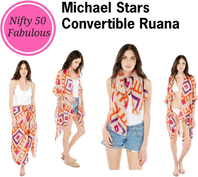 michael stars convertible runana hardested working scarf in closet