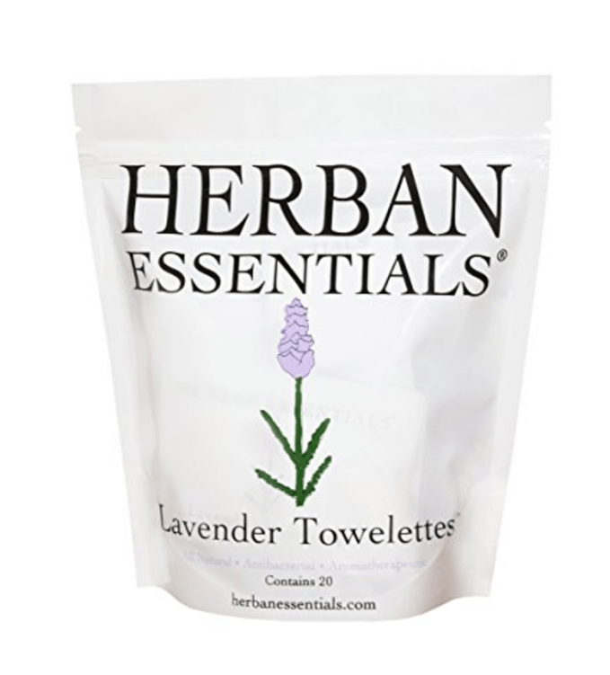 Favorite Things! Herban Essentials Lavender Towelettes