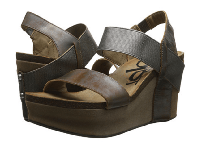 OTBT Platform Wedges Bushnell in Pewter