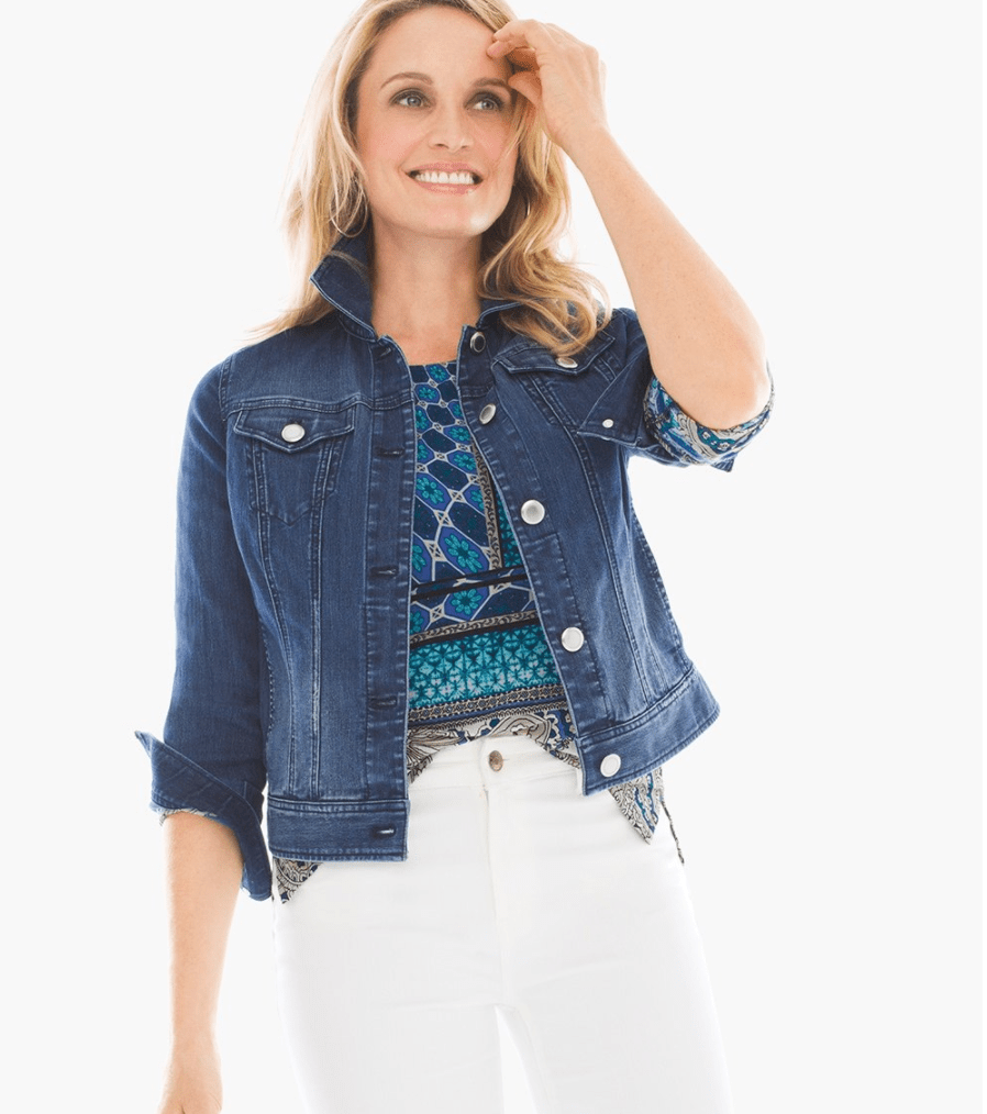 Basic Denim Jacket from Chicos