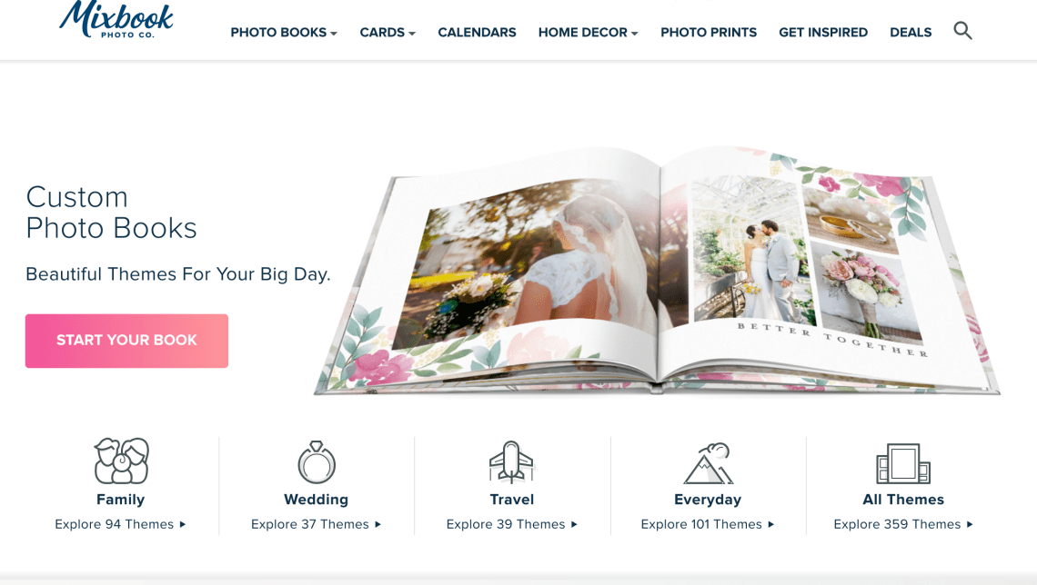 photo books from mixbook.com