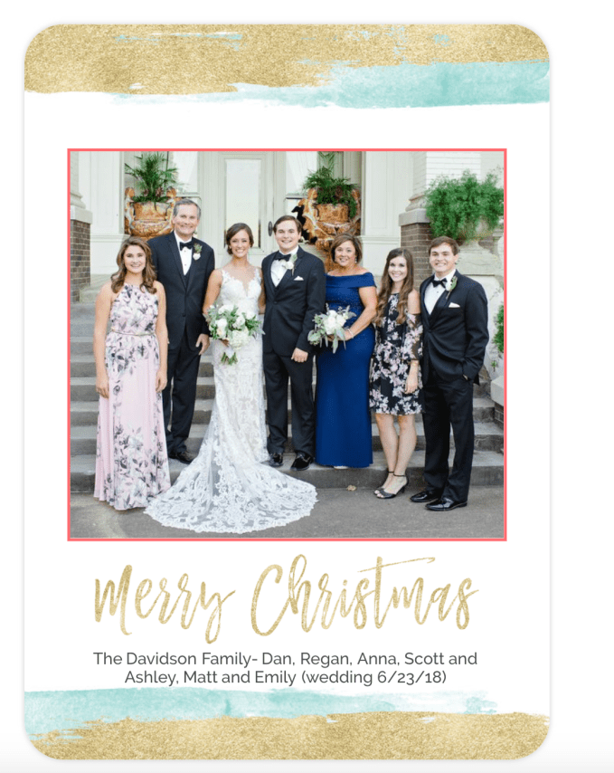 Holday Christmas Card From Mixbooks