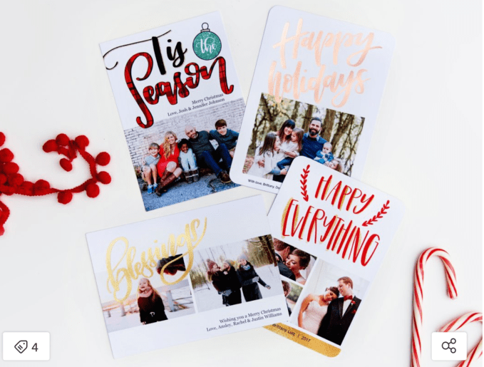 Holiday Cards From Mixbooks