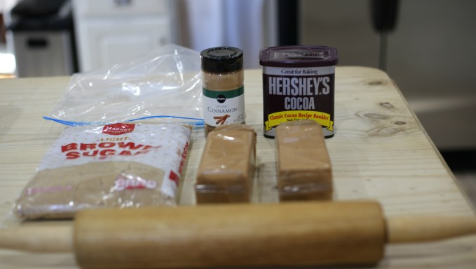 topping ingredients for White Chocolate Bread Pudding