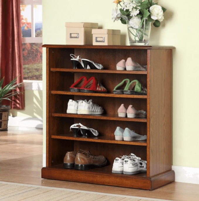 Shoe Cabinet From Target For Neat Shoe Display