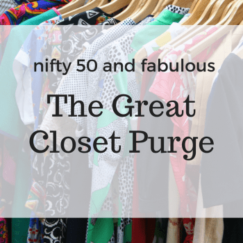 The Great Closet Purge