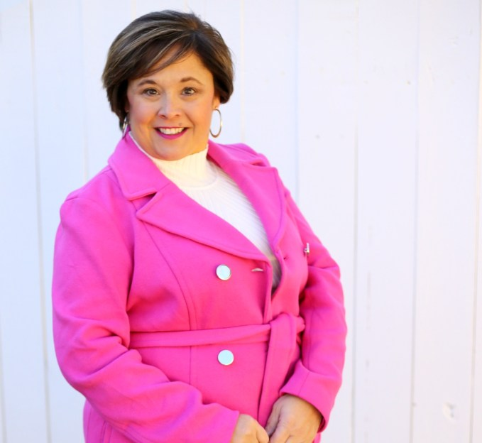 Pink Winter Coat From Macy's INC