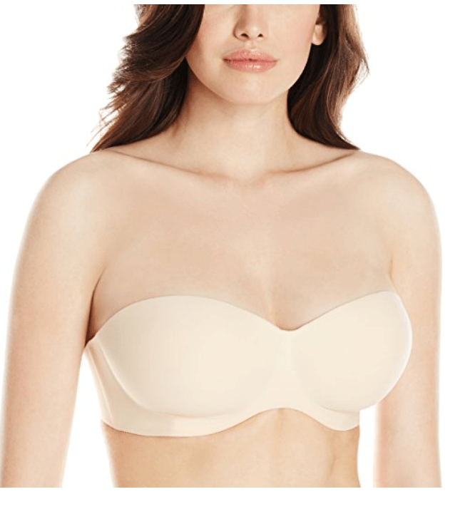 Feline Women's Hint Of Skin Strapless Bra
