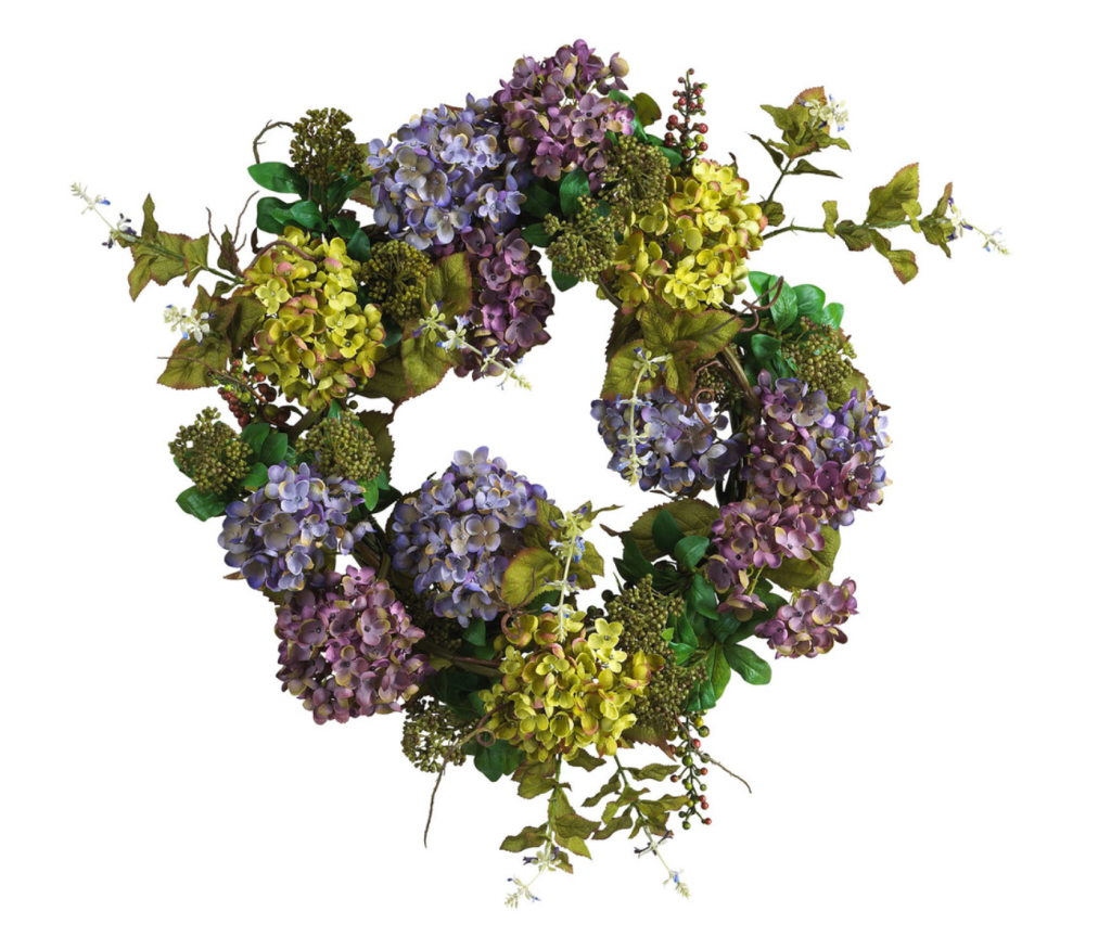 Hydrangea Wreath From Houzz