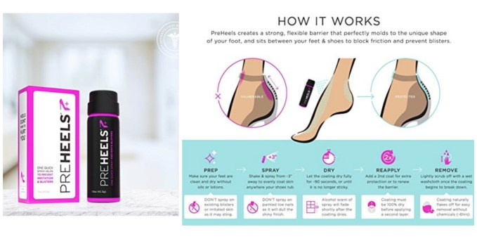 Fashion Tool Kit- Preheels Blister Prevention Spray