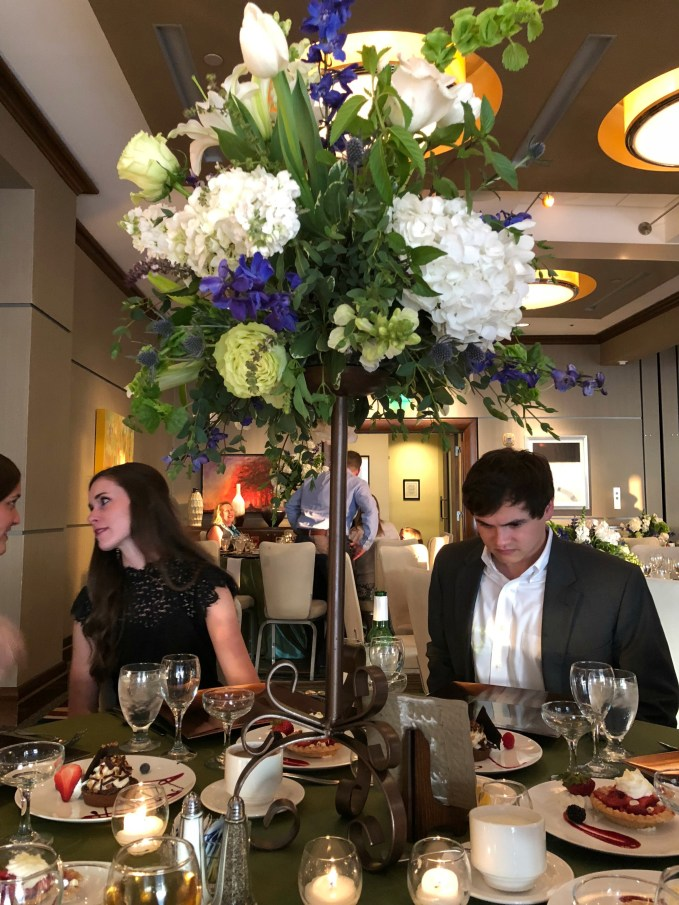 Table Arrangements For Rehearsal Dinner