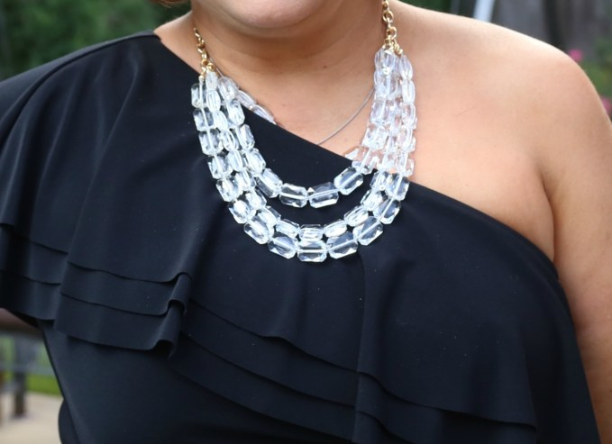 Baublebar Lucite Statement Necklace