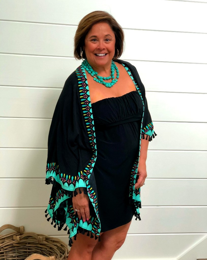 Versatile Cover Up For Dinner Out