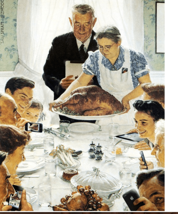Norman Rockwell Perfect Thanksgiving