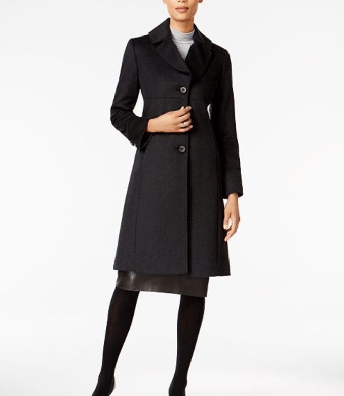 Jones New York Walkers Wool Coat