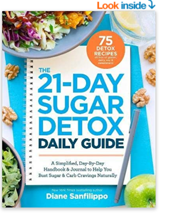 How To Prepare For 21 Day Sugar Detox. Daily guide and journal to help you monitor your progress and keep organized