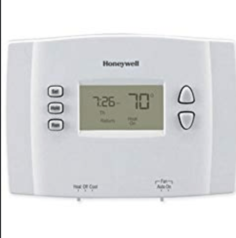 Turn the thermostat down to 70 to create a cool and comfortable room to sleep in