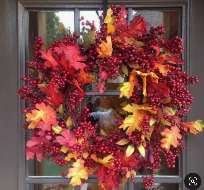 Finding Inspiration For Fall In Fall Wreaths