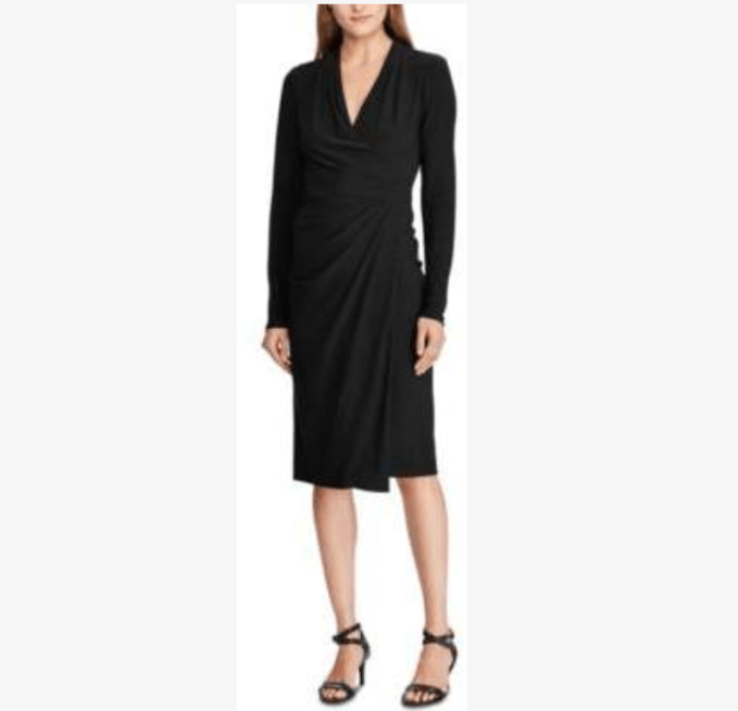 Choose a wrap dress for travel friendly style
