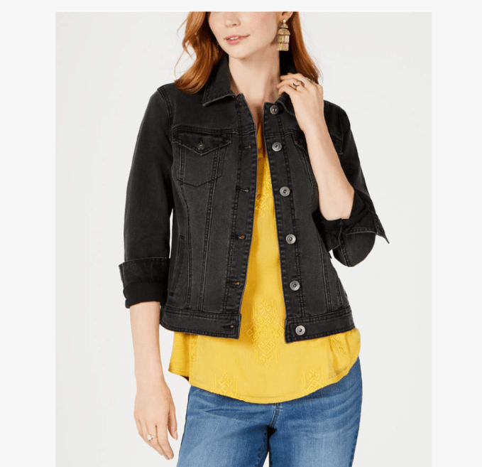 denim jackets come in an array of colors