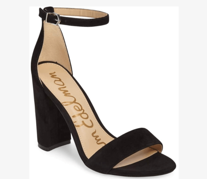 Wardrobe Basics- Shoes you need in your closet- black heels