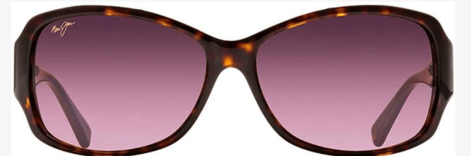 "I call these my ""Movie Star"" sunglasses-The Maui Jim Nalani Sunglasses. I have them in black but they come in brown and tortoise."