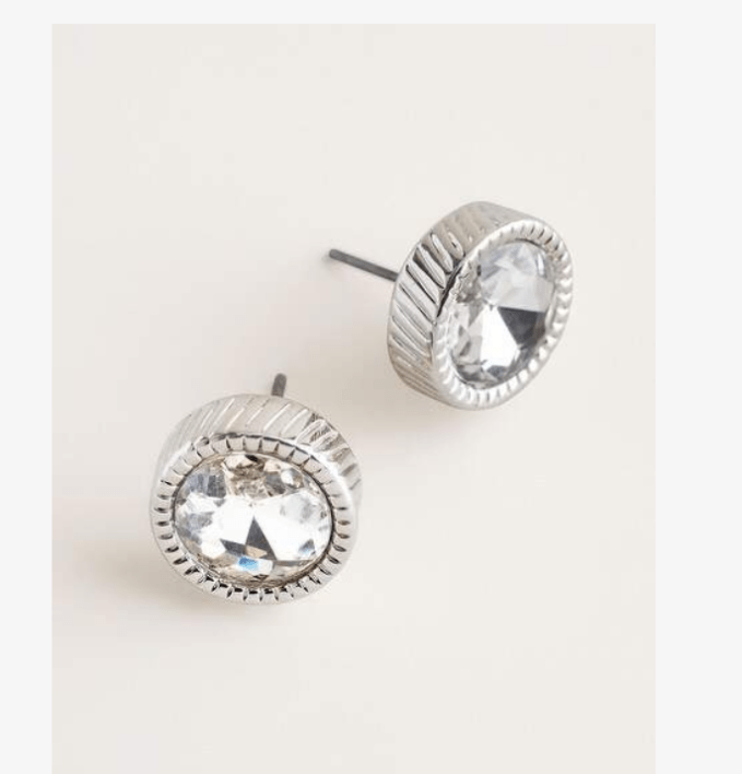 Silver Stud Earrings are a great basic to have in your jewelry box