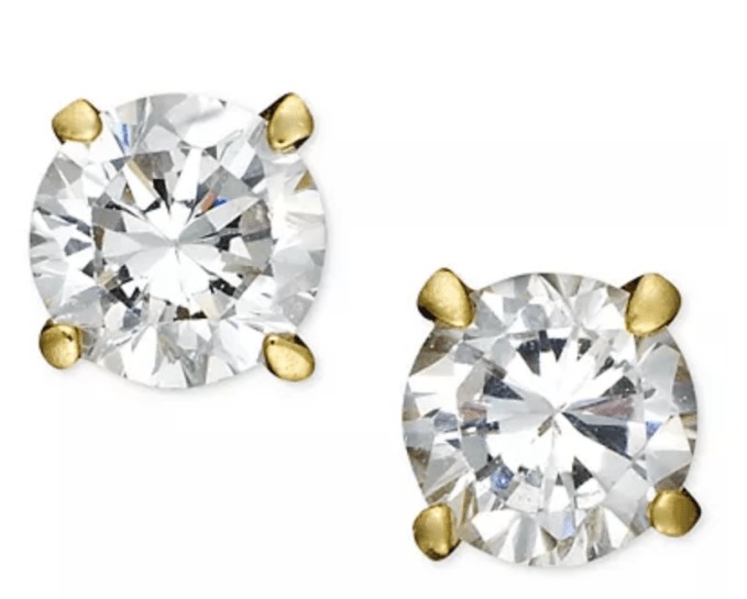 Nice BIG Cubic Zirconia earrings are a staple in your jewelry box. For everyday wear with jeans or a formal dress out
