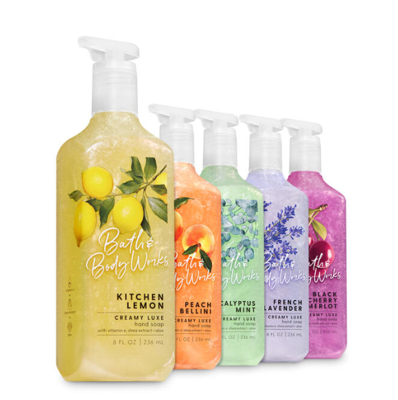 Bath And Body Works has a Nourishing Line that I have used for years, especially in the winter.