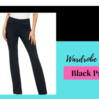 Wardrobe Basics- Black Pants
