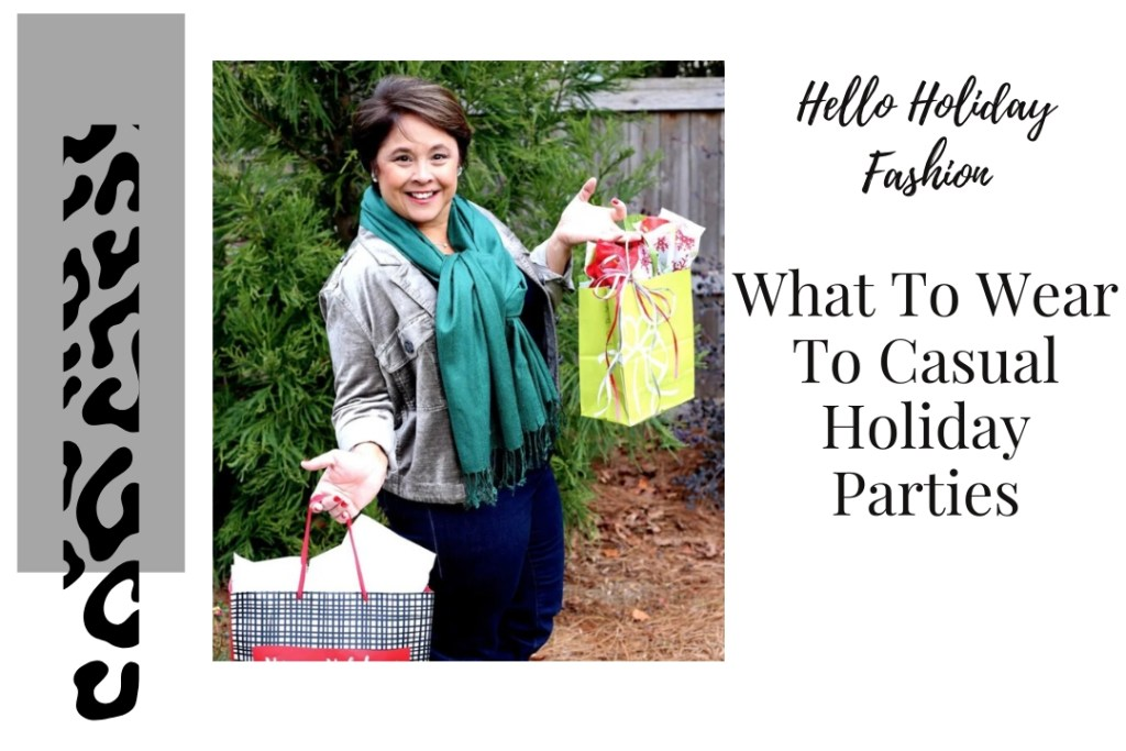 What To Wear To Casual Holiday Parties