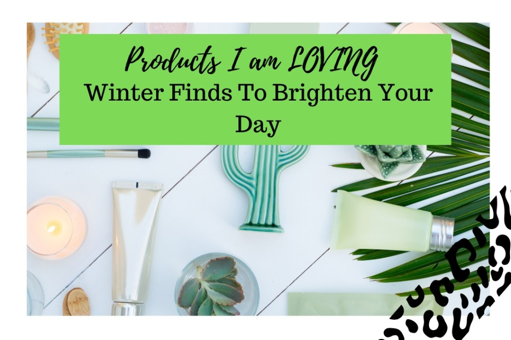 Products I Am Loving-  Winter Finds To Brighten Your Day