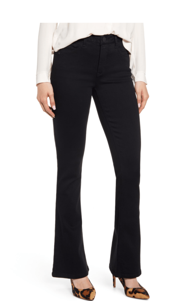 Nsale favorite pick-Wit and Wisdom Black Bootcut Jeans in black