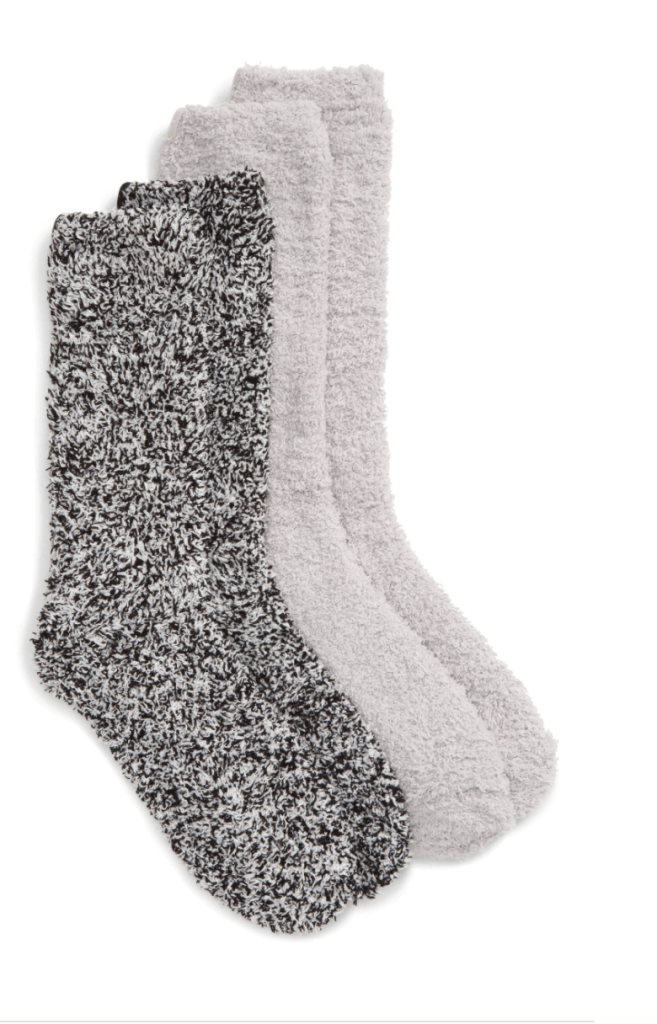 Nsale favorite pick for gifts- Barefoot Dreams socks.  I lived in these all winter.  Perfect for gift or stocking stuffer.