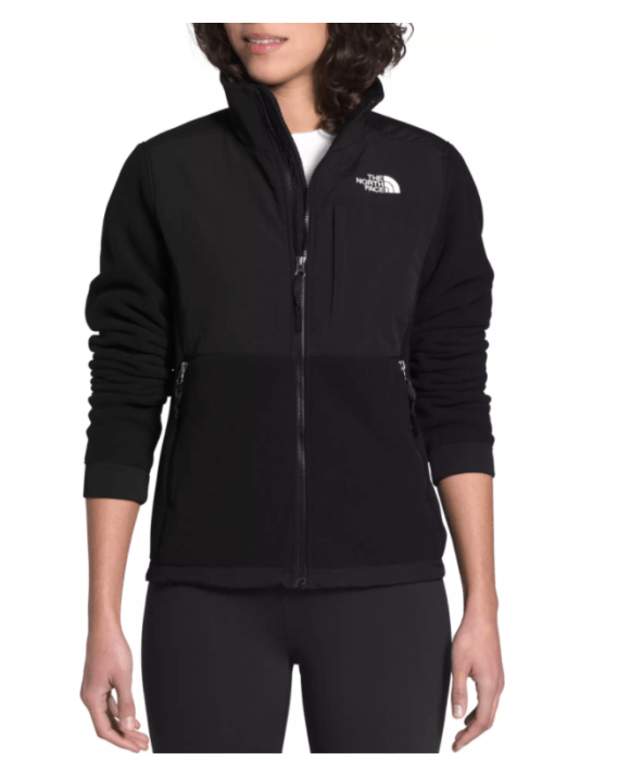 Outerwear for cold windy day-North Face Denali 2 Fleece Jacket is a lightweight and a good choice for chill/cold days at the lake.