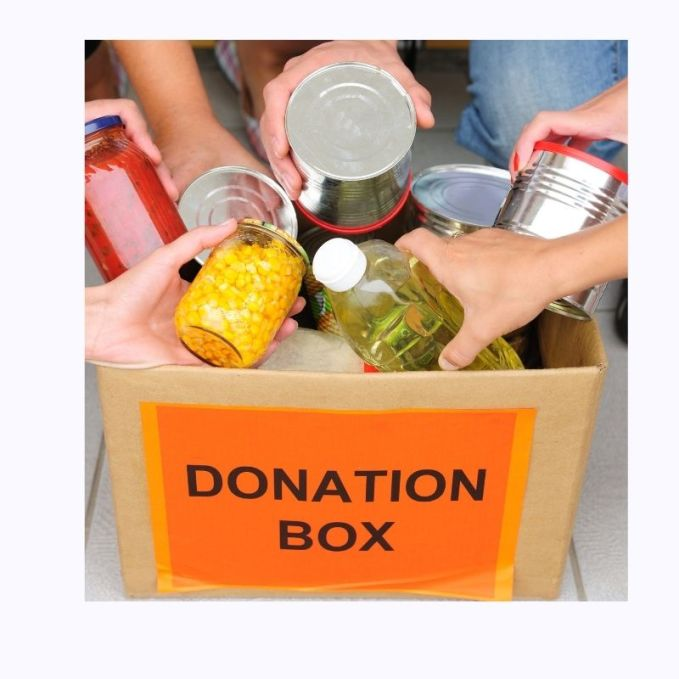 Instead of Christmas Shopping- Donate to your local community charities such as food banks and churches.