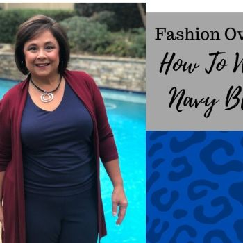 How To Wear The Color Navy