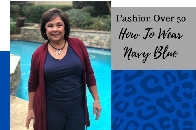 How To Wear The Color Navy Blue
