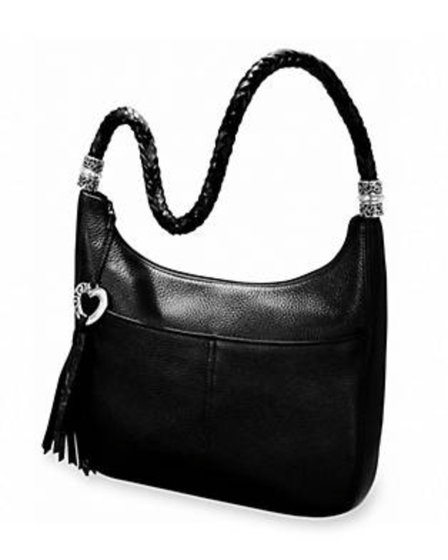 My fall/winter everyday purse is the Brighton Barbados Hobo Bag.  Love the zip-top and outside pockets. But most of all, it fits my petite frame.