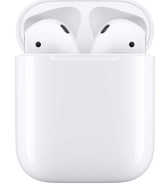 Not a stocking stuffer, but one of my favorite gifts of the year, Apple Wireless Air Pods are easy to use and great to have on hand if you need to listen to any of your blue tooth devices in silence.