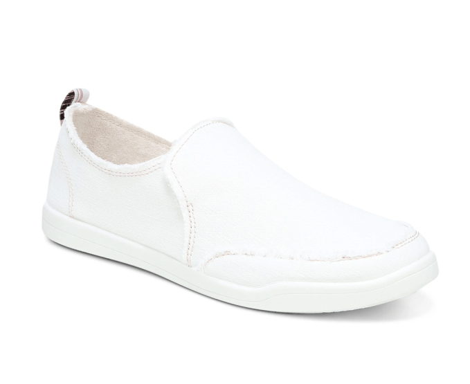 Now is a very good time to evaluate your food wear for spring.  I just purchased the Vionic Malibu Slip On Canvas Sneaker. Comfortable and cute