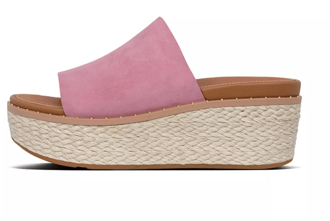 Fitflop just came out with this cute espadrille style, The Eloise, in 3 different spring suede colors.
