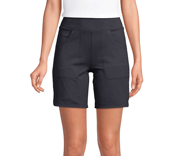 Land's End 5 Pocket Active Shorts are great choice for exercise, running errands, and sports