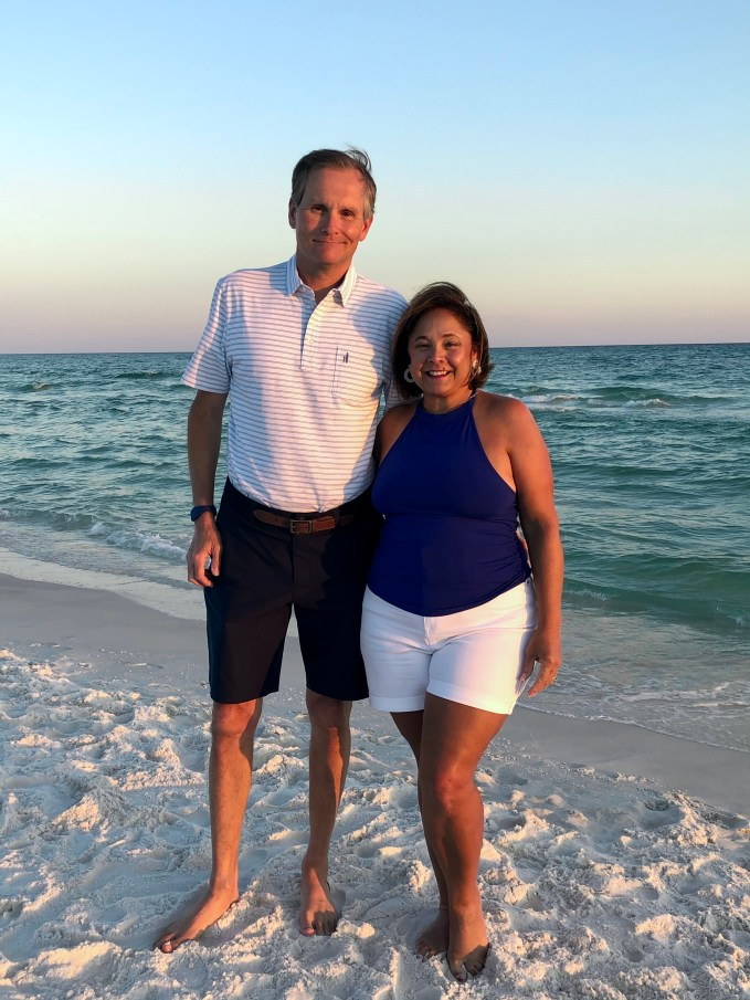 Vacation Fashions With White And Blue. Beach style is relaxed and comfortable
