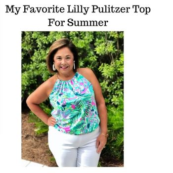 My Favorite Lilly Pulitzer Top For Summer