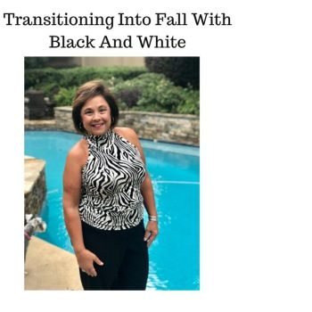 Transitioning Into Fall With Black And White
