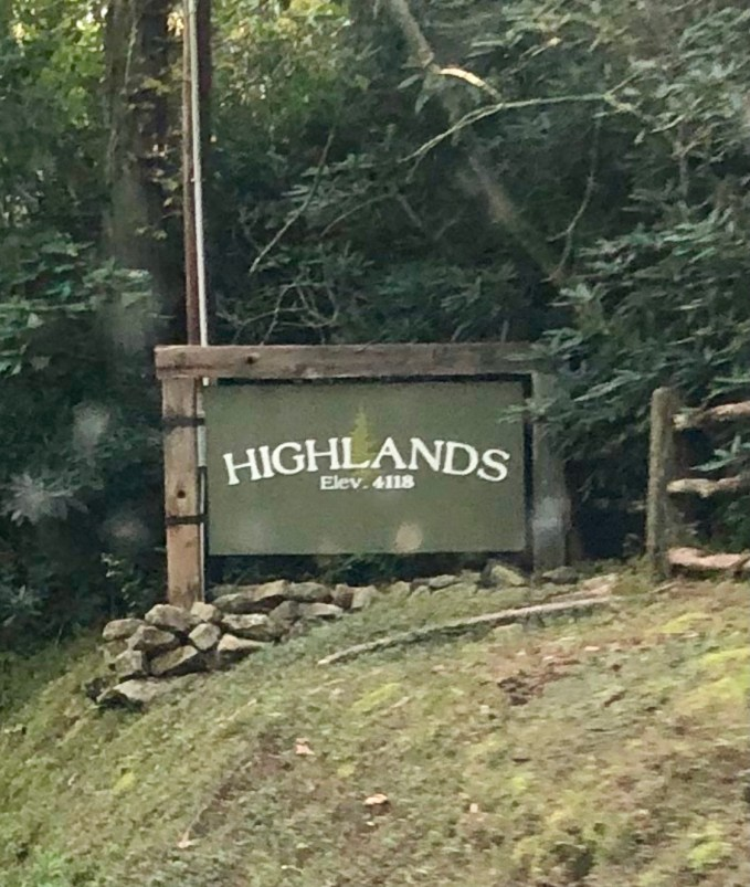 Welcome to Highlands NC