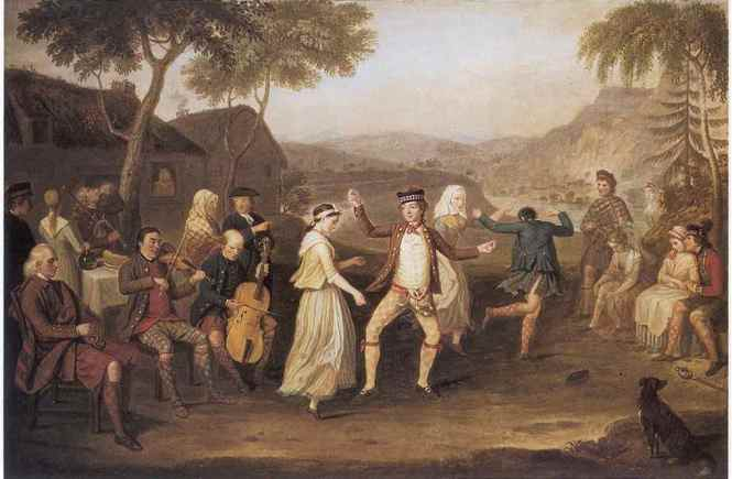 David Allan, Highland wedding 1780