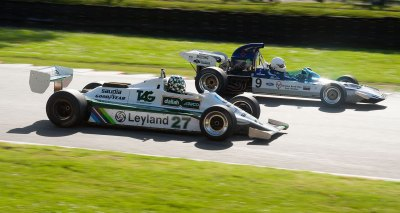 Williams FW07B 1980 and Surtees TS9 1971